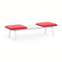 HUB 3 bench HU33M | Benches | Interstuhl