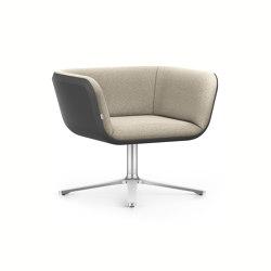 HUB 1 low HU100 | Armchairs | Interstuhl