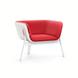 HUB 1 low HU130 | Armchairs | Interstuhl