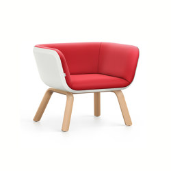 HUB 1 low HU140 | Armchairs | Interstuhl