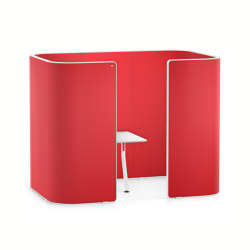 HUB 2 pod high HU272 | Privacy screen | Interstuhl