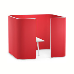 HUB 3 pod high HU372 | Privacy screen | Interstuhl