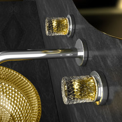 Glamorous Tuning Lyric Ramada | Wash basin taps | Glass Design