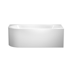 Meisterstück Centro Duo 1 left alpine white | Bathtubs | Kaldewei