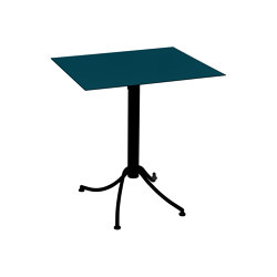Ariane | Two-Tone Table 60 x 70 cm | Bistro tables | FERMOB