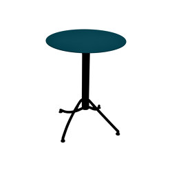 Ariane | Two-Tone Table Ø 60 cm | Bistro tables | FERMOB