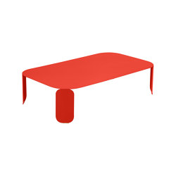 Bebop | Low Table 120 x 70 cm – H.29 cm | Coffee tables | FERMOB