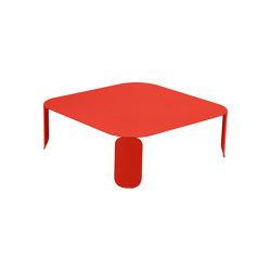 Bebop | Low Table 90 x 90 cm – H.29 cm | Coffee tables | FERMOB
