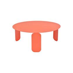 Bebop | Low Table Ø 80 cm | Mesas de centro | FERMOB