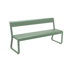 Bellevie | Bench With Backrest | Benches | FERMOB
