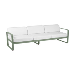 Bellevie | 3-Seater Sofa  – Off-White Cushions | Sofas | FERMOB