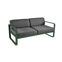 Bellevie | 2-Seater Sofa – Graphite Cushions | Sofas | FERMOB