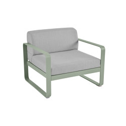 Bellevie | Armchair – Flannel Grey Cushions | Armchairs | FERMOB