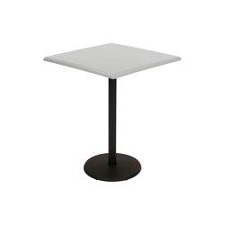 Concorde Premium | Pedestal Table 57 x 57 cm | Mesas de bistro | FERMOB
