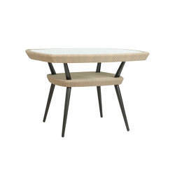KATACHI DINING TABLE SQUARE 111 | Dining tables | JANUS et Cie