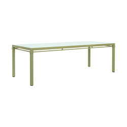 PALMIA DINING TABLE RECTANGLE 238 | Dining tables | JANUS et Cie