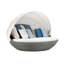 PIVOT SWIVEL DAYBED | Seating islands | JANUS et Cie