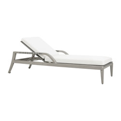 ROCK GARDEN CHAISE LOUNGE WITH ARMS | Sun loungers | JANUS et Cie