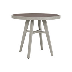 ROCK GARDEN DINING TABLE ROUND 90 | Dining tables | JANUS et Cie