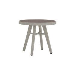 ROCK GARDEN SIDE TABLE ROUND 48 | Tables d'appoint | JANUS et Cie