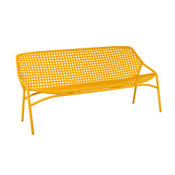 Croisette | 3-Seater XL Bench | Bancos | FERMOB