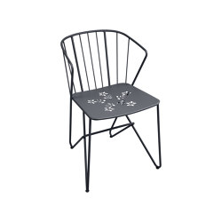 Flower | Perforated Armchair | Chairs | FERMOB