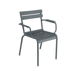 Luxembourg Acier | Steel Armchair | Chairs | FERMOB