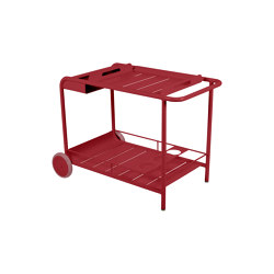 Luxembourg | Side Table / Bar With Wheels | Trolleys | FERMOB