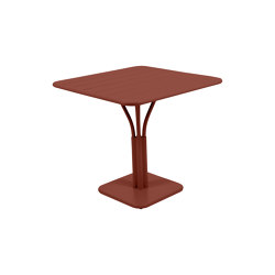Luxembourg | Pedestal Table 80 x 80 cm | Dining tables | FERMOB