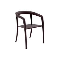 Jive Chair Aluminium - JIV55BR | Sillas | Royal Botania
