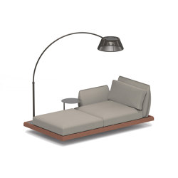 Mozaix Lounge - set 03 | Chaise longues | Royal Botania