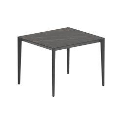 U-nite table - UNT100CABS | Dining tables | Royal Botania
