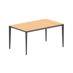 U-nite table - UNT150WA | Dining tables | Royal Botania