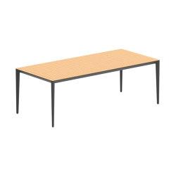 U-nite table - UNT220WA | Dining tables | Royal Botania