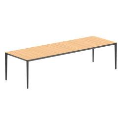 U-nite table - UNT300WA | Tavoli pranzo | Royal Botania