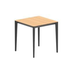 U-nite table - UNT75WA | Dining tables | Royal Botania