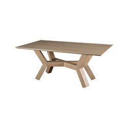 Dinner Table Tertius in Solid Ash | Tables de repas | Editions LS
