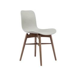 Langue Original Dining Chair, Smoked /  Flint Grey   Sillas   NORR11
