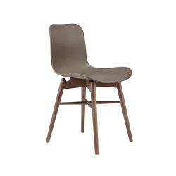 Langue Original Dining Chair, Smoked /  Gargoyle Brown   Sillas   NORR11