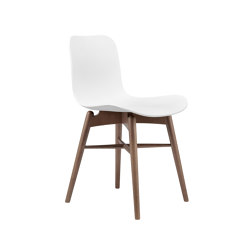 Langue Original Dining Chair, Smoked /  Off White   Sillas   NORR11
