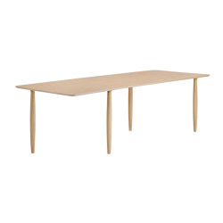 Oku Dining Table, Natural 250 cm | Tables de repas | NORR11