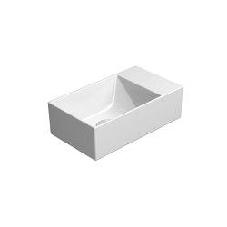 Kube X 40x23   Washbasin   Wash basins   GSI Ceramica