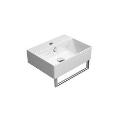 Kube X 45x35   Washbasin   Wash basins   GSI Ceramica