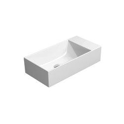 Kube X 50x25   Washbasin   Wash basins   GSI Ceramica