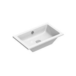 Kube X 60x37   Washbasin   Wash basins   GSI Ceramica