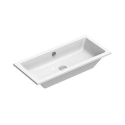 Kube X 80x37   Washbasin   Wash basins   GSI Ceramica
