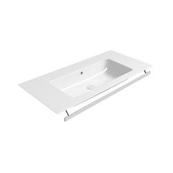 Pura 100x50   Washbasin   Wash basins   GSI Ceramica