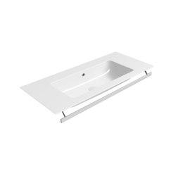 Pura 102x46   Washbasin   Wash basins   GSI Ceramica