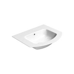 Pura 52x44   Washbasin   Wash basins   GSI Ceramica