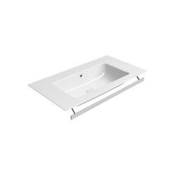 Pura 82x46   Washbasin   Wash basins   GSI Ceramica